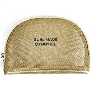 CHANEL cosmetics pouch